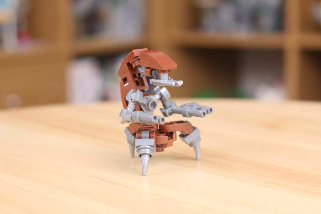 Custom LEGO Star Wars Droideka Build 1