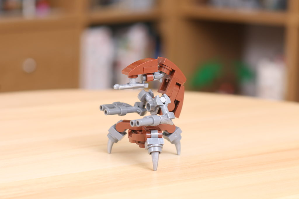 Custom LEGO Star Wars Droideka Build 2