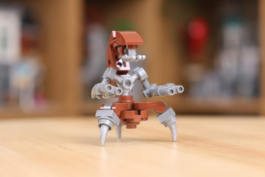 Custom LEGO Star Wars Droideka Build 3
