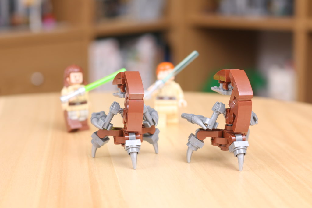 Custom LEGO Star Wars Droideka Build 6