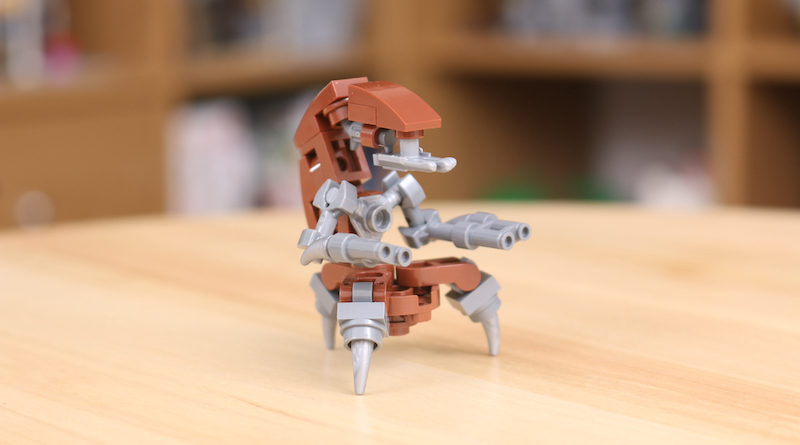 Custom LEGO Star Wars Droideka Title 800x445
