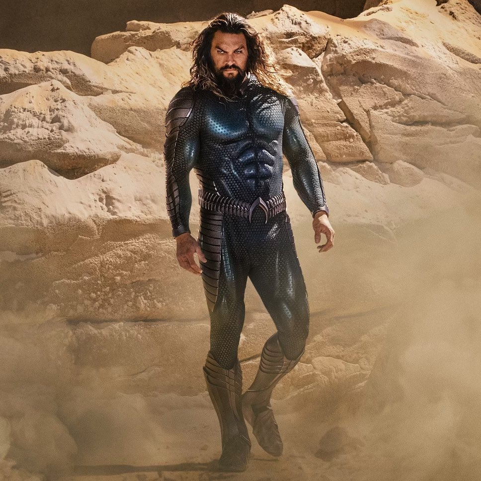DC Aquaman 2 first look stealth suit