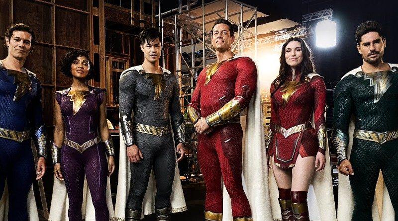 DC Shazam sequel costume reveal