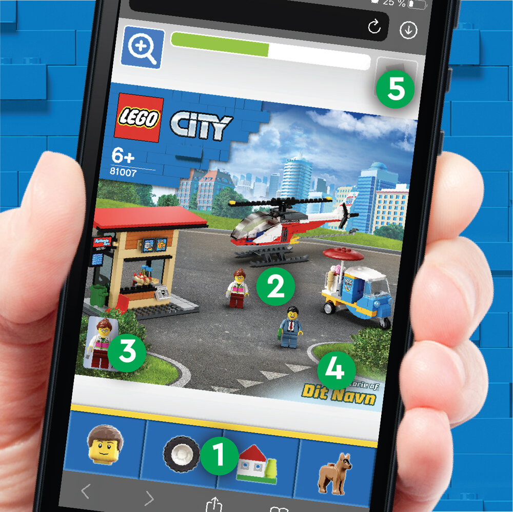 Design Your Own LEGO City Set 1