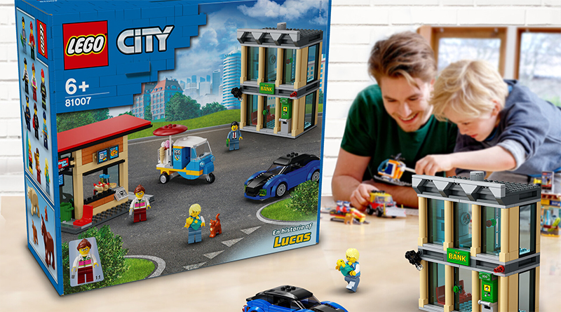 Design Your Own LEGO City Set Featured