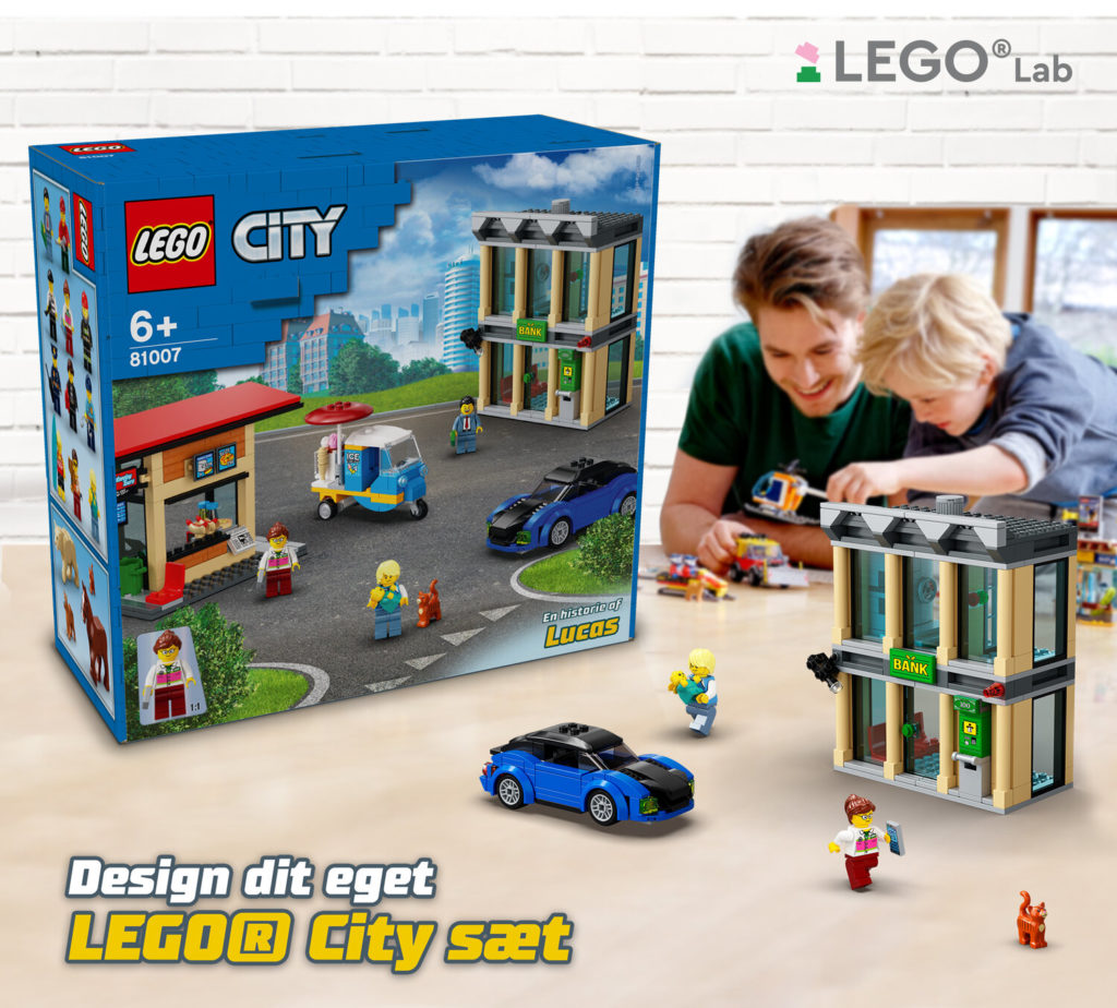 Design Your Own LEGO City Set