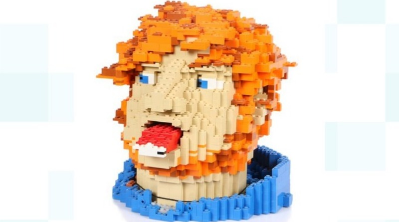 Ed Sheeran LEGO Bust Featured