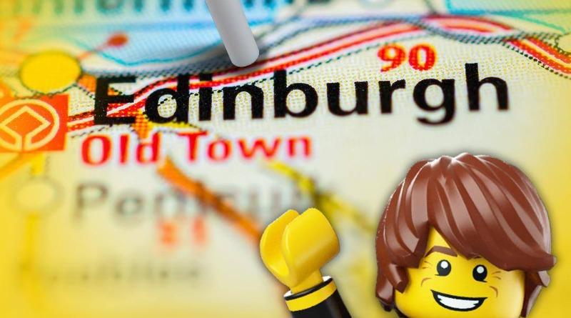 Edinburgh LEGO Store Cover