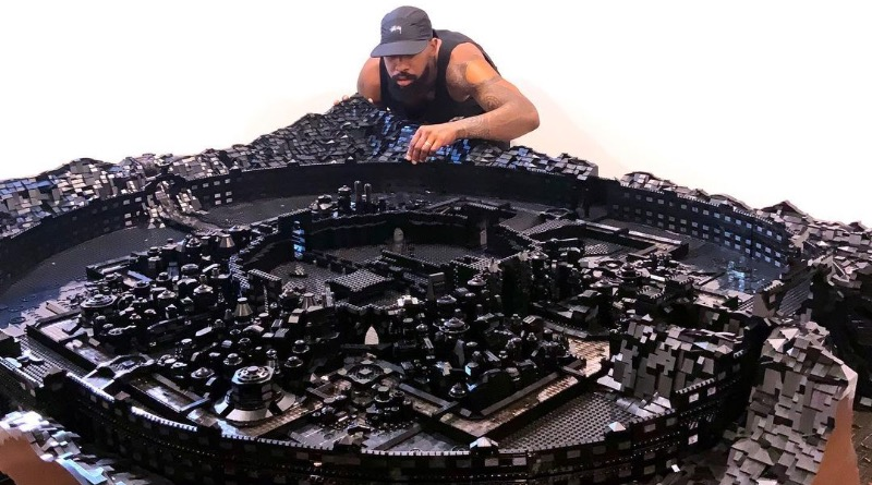 Ekow Nimako LEGO Art Featured