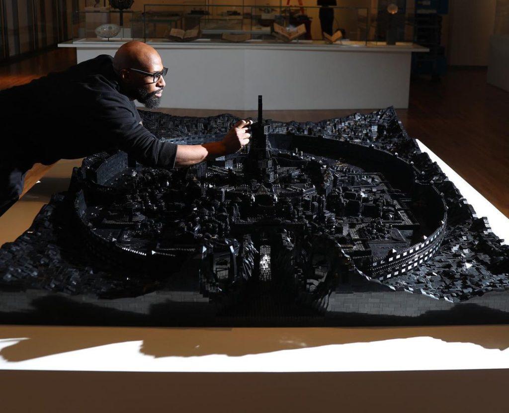 Ekow Nimako LEGO Art