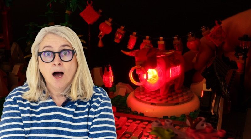 Emma Kennedy LEGO 80107 Spring Lantern Festival light brickfeatured