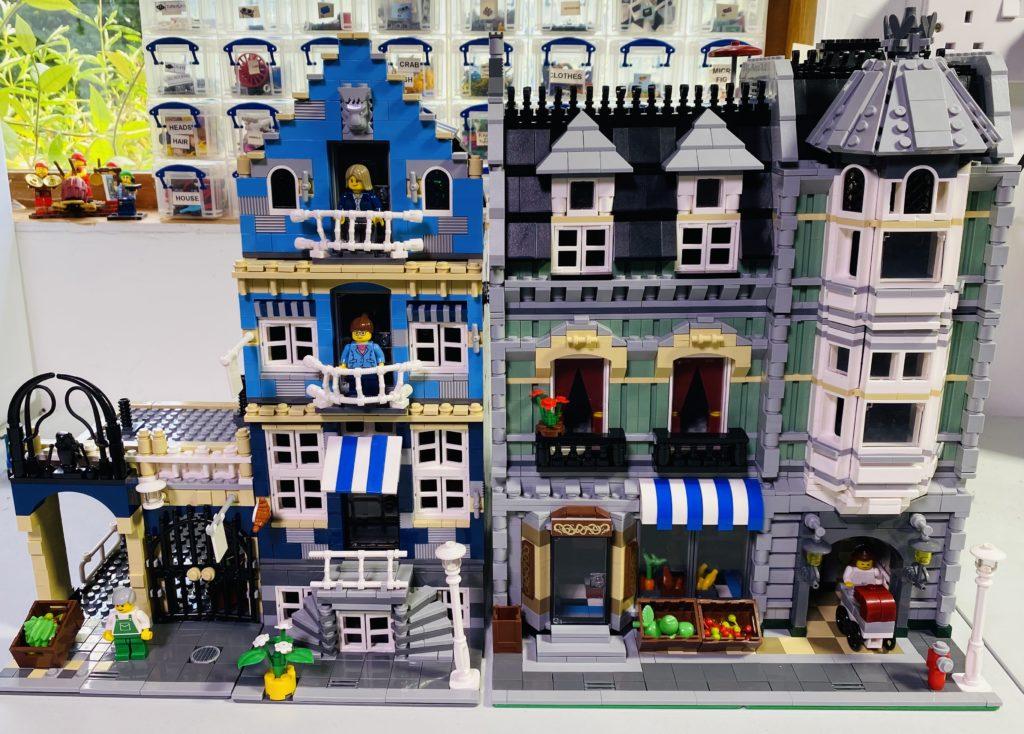 Emma Kennedy LEGO Creator Expert 10185 Green Grocer 10190 Market Street
