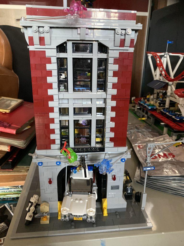Emma Kennedy LEGO Ghostbusters 75827 Firehouse Headquarters 1