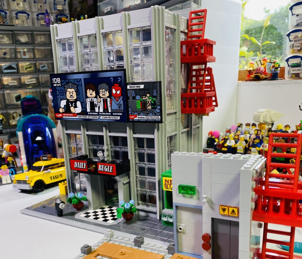 Emma Kennedy LEGO Marvel 76178 Daily Bugle