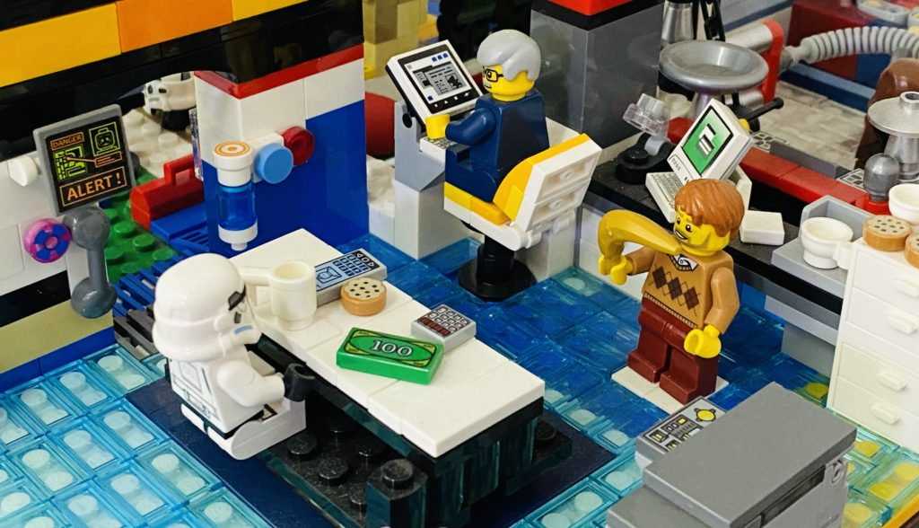 Emma Kennedy LEGO Star Wars Death Spa 6