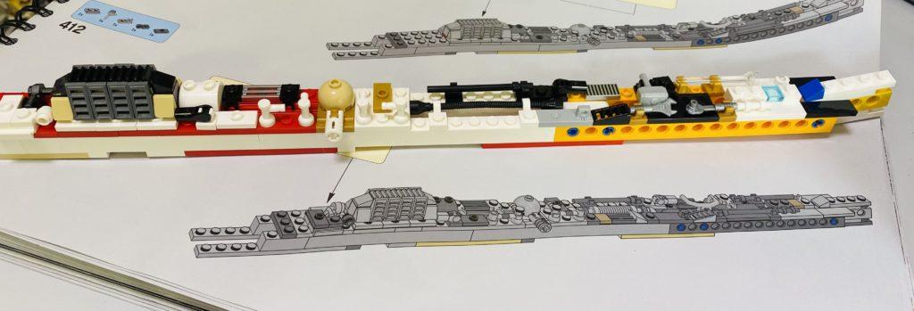 Emma Kennedy LEGO Star Wars Liza Minnellium Falcon 4