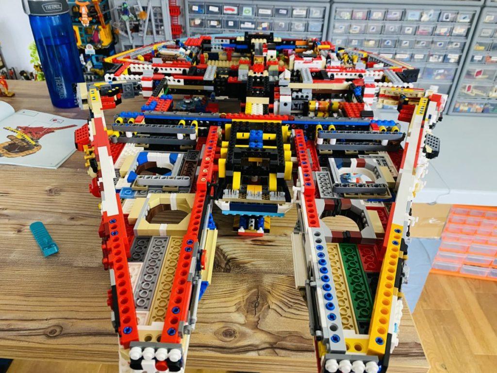 Emma Kennedy LEGO Technic Millennium Falcon