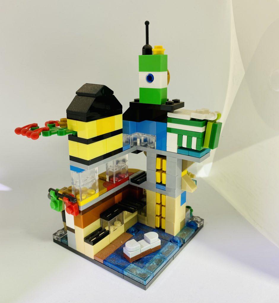 Emma Kennedy LEGO micro 70620 NINJAGO City 2