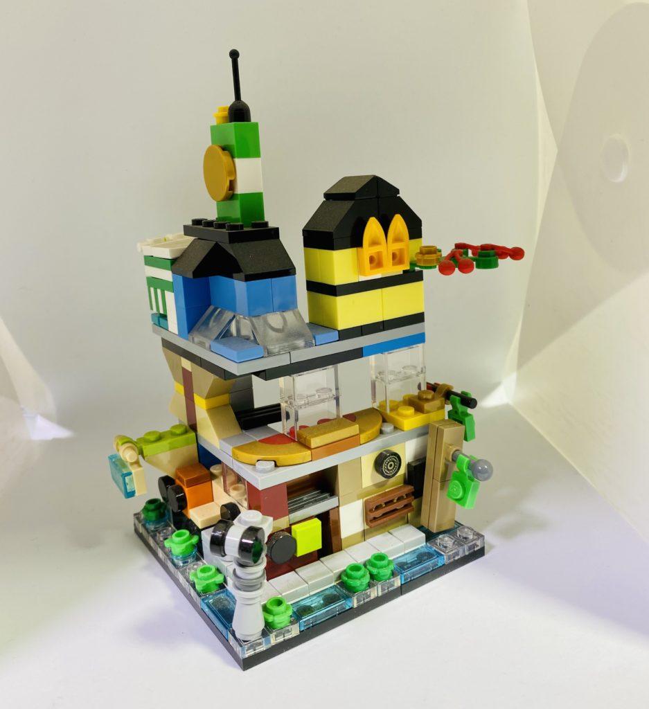 Emma Kennedy LEGO micro 70620 NINJAGO City