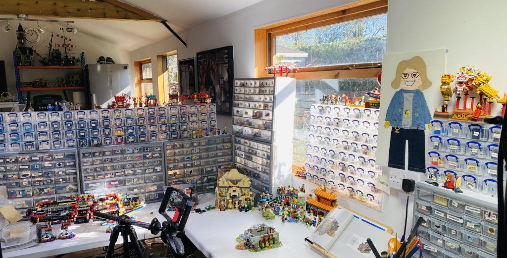 Emma Kennedy LEGO Shed 2