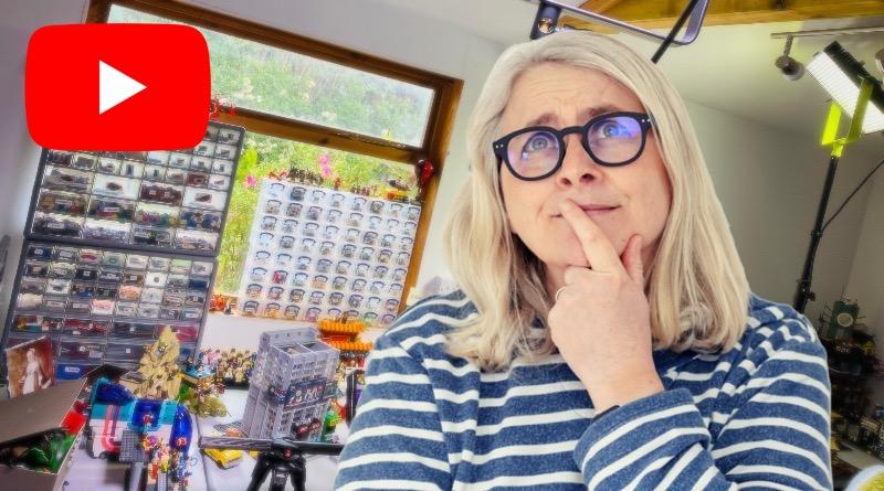 Emma Kennedy LEGO သည် YouTube Setup Featured ကိုတင်ခဲ့သည်