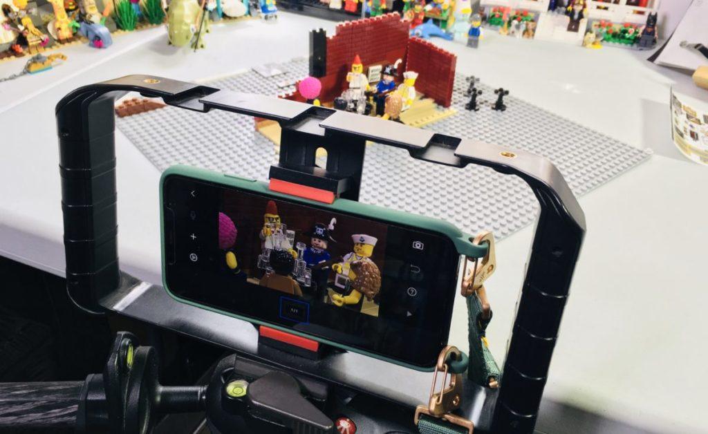 Emma Kennedy LEGO stop motion