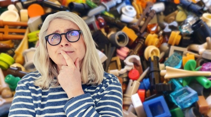 Emma Kennedy loose LEGO parts featured