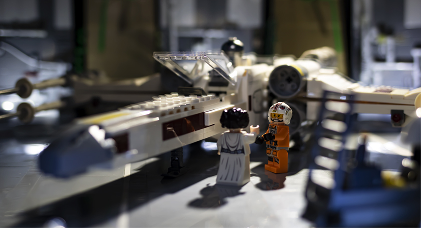 FEATURED Rezied Luke And Leia By Xwing