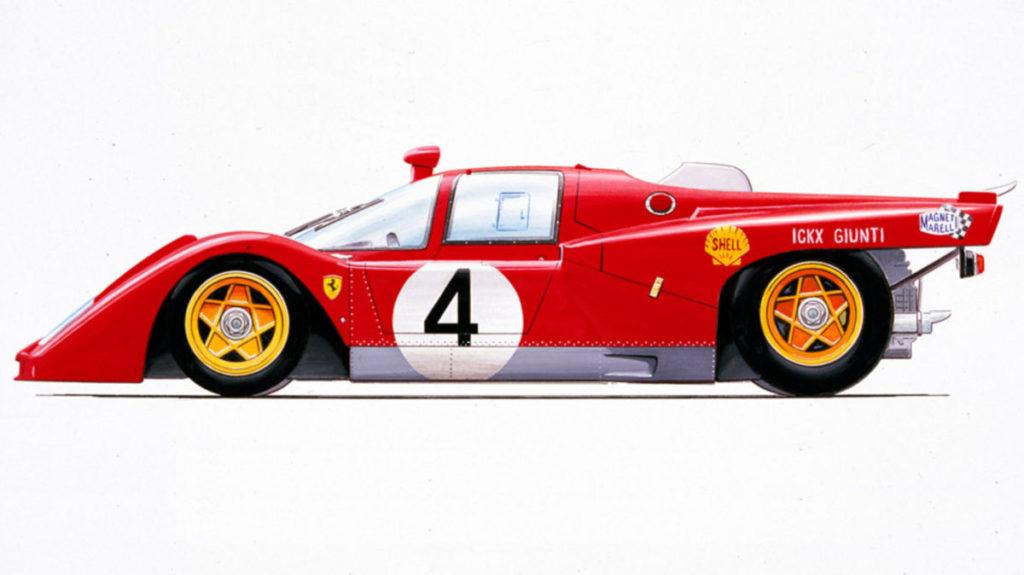 Ferrari 512 M official image artwork