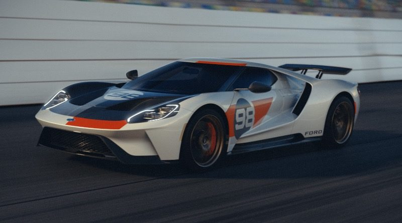 Ford GT Heritage Edition featured