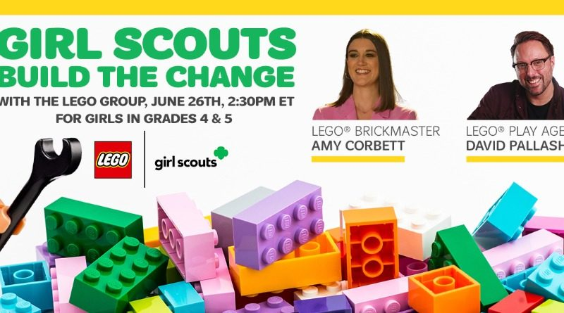 Girl Scouts Build the Change
