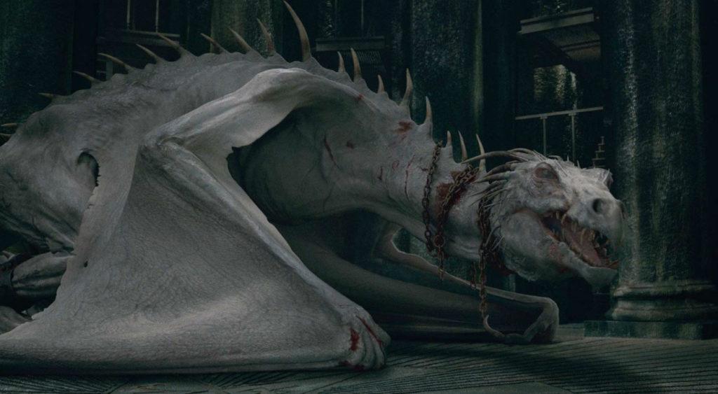 Gringotts Bank Ironbelly Dragon