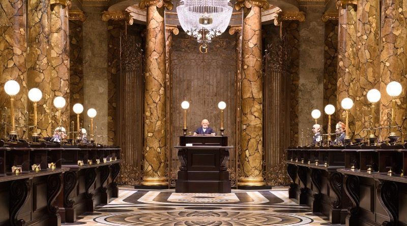 Harry Potter Gringotts Bank interior featured