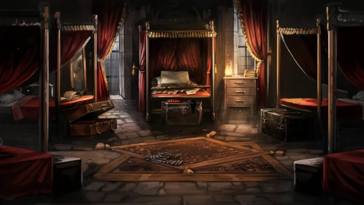 Harry Potter Gryffindor Common Room Featured