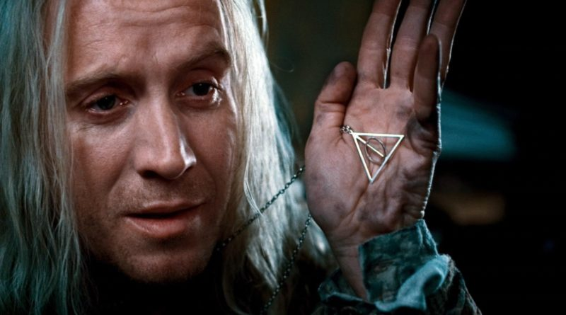 Harry Potter and the Deathly Hallows symbol featured