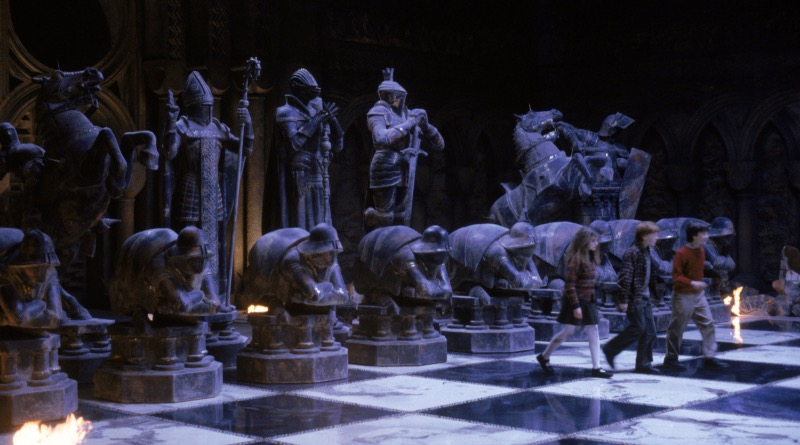 Harry Potter And The Philosophers Stone Wizard Chess Featurewd