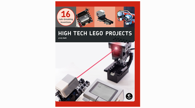 High Tech LEGO Spread Featured