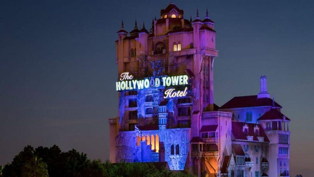 Hollywood Studios Tower of Terror attraction Disney World
