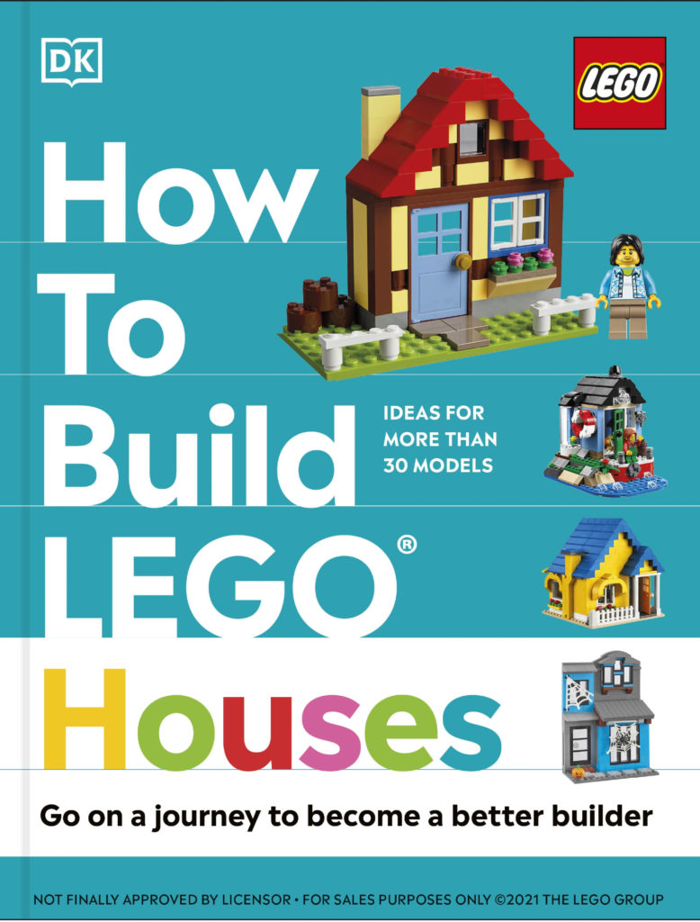 How to Build LEGO Houses cover