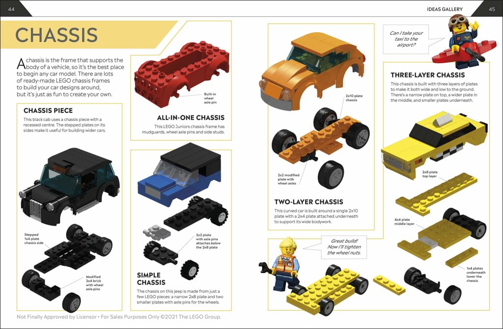 How To Build LEGO Cars Book Inside 2
