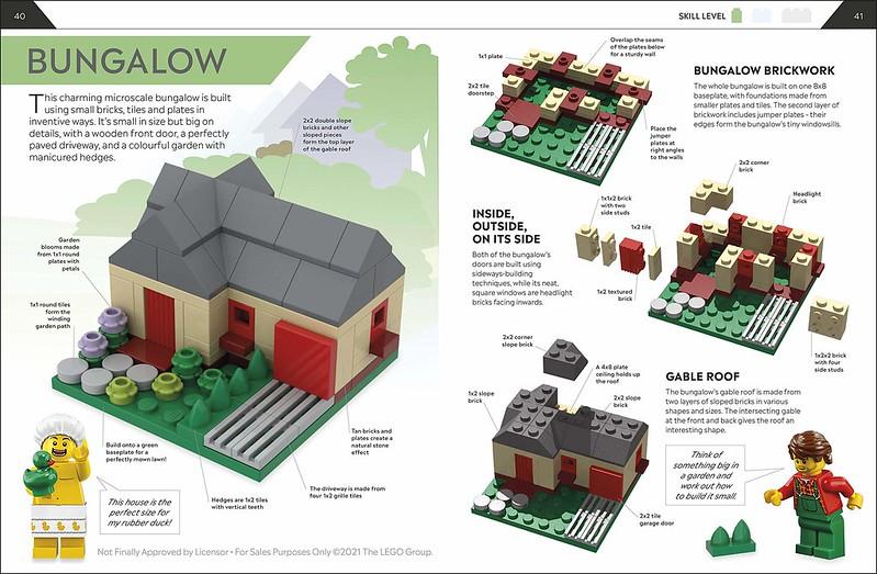 How to build LEGO houses interior 1