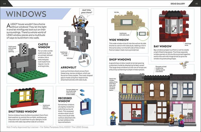 How to build LEGO houses interior 2