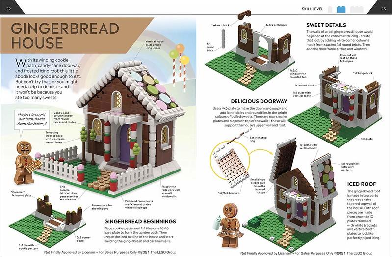 How to build LEGO houses interior