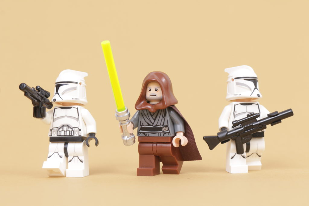 How to build a LEGO Star Wars Jedi Bob 75309 UCS Republic Gunship minifigure 16