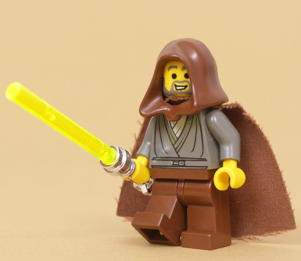 How to build a LEGO Star Wars Jedi Bob 75309 UCS Republic Gunship minifigure 22
