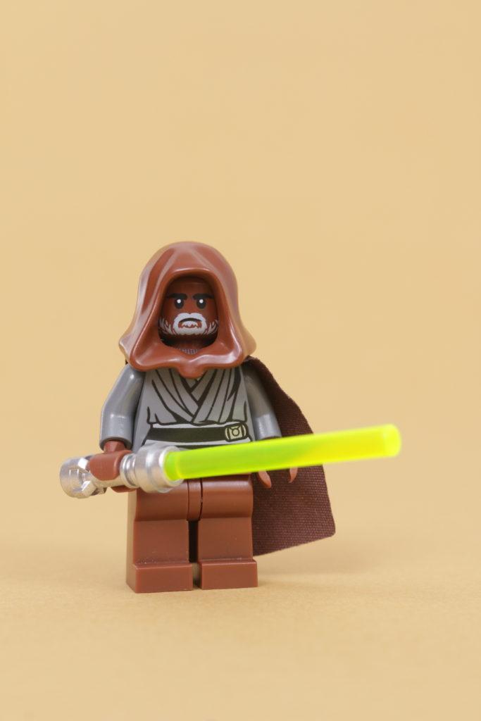 How to build a LEGO Star Wars Jedi Bob 75309 UCS Republic Gunship minifigure 5