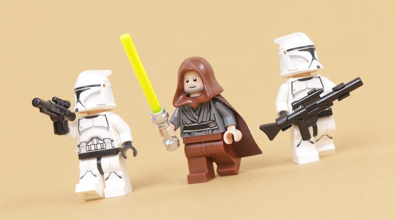 How to build a LEGO Star Wars Jedi Bob 75309 UCS Republic Gunship minifigure title