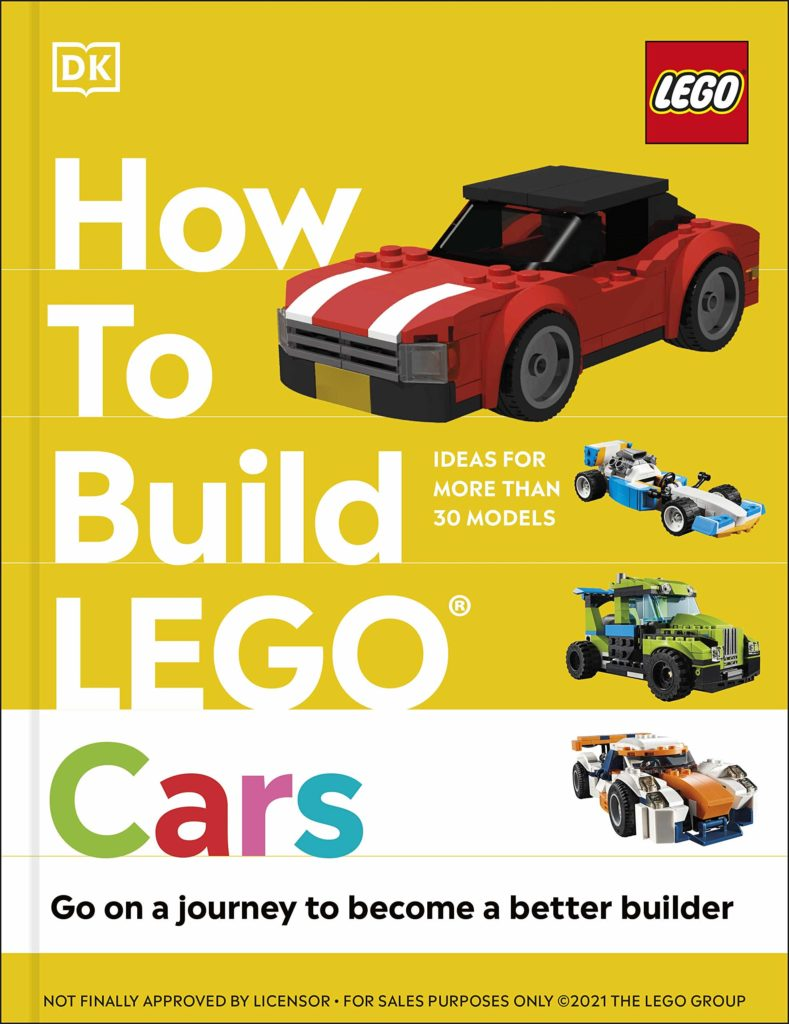 How To Build Lego Cars Book Cover