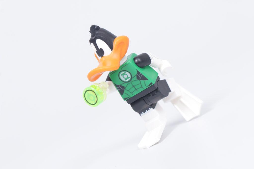 သင်၏ကိုယ်ပိုင် LEGO Green Loontern အသေးစားဓာတ်ပုံ Daffy Duck Green Lantern ကိုမည်သို့တည်ဆောက်ရမည်နည်း