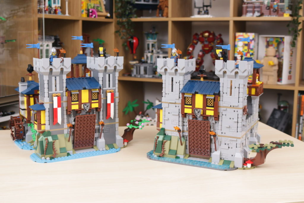 How to improve LEGO Creator 3 in 1 31120 Medieval Castle 46